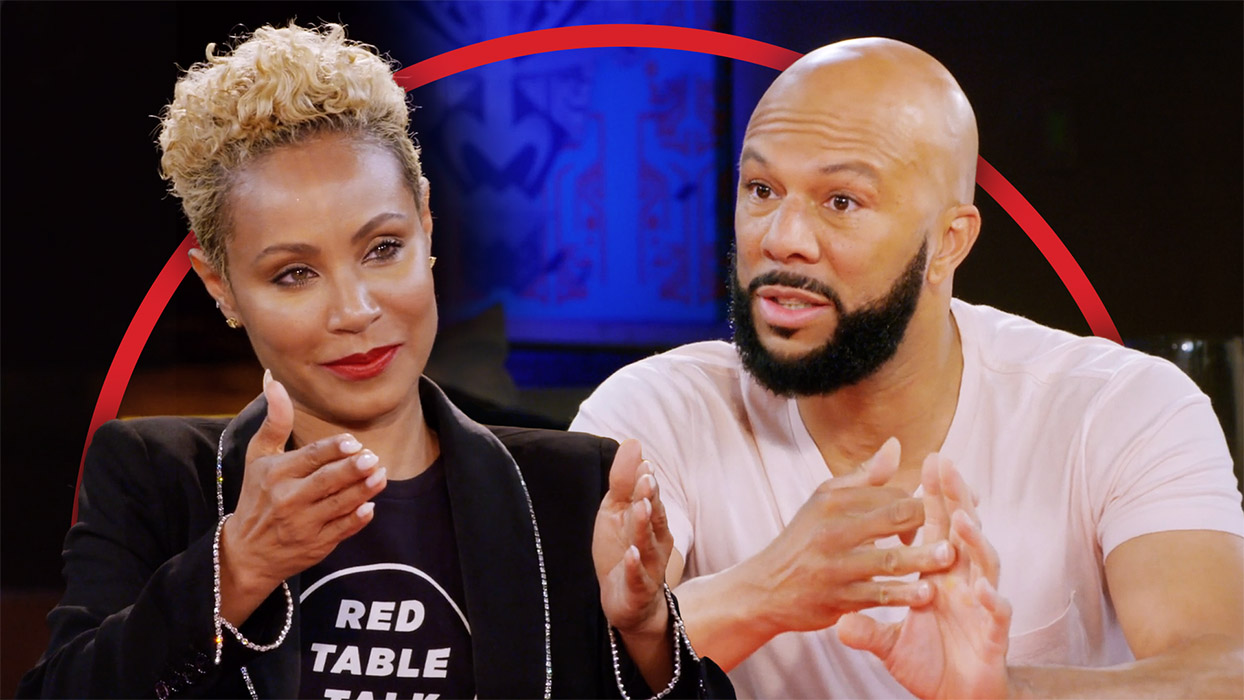 Picture of Jada Pinkett Smith and Common
